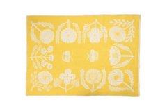 鹿児島睦 ブランケット VILLIKUKKIA Yellow M
