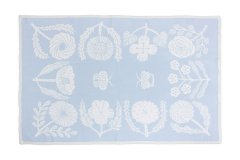 VILLIKUKKA Cotton Blanket L blue