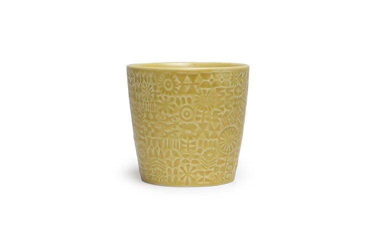 パターンカップ イエロー