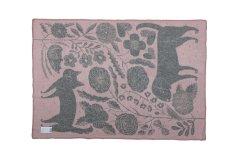 鹿児島睦 ブランケット KOIRA JA KISSA 90×130 Pink