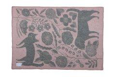 鹿児島睦 ブランケット KOIRA JA KISSA 130×180 Pink