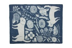 ブランケット KOIRA JA KISSA 130×180 Blue