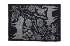 鹿児島睦 ブランケット KOIRA JA kiSSA 130×180 Black