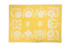ブランケット VILLIKUKKIA Blanket Yellow L