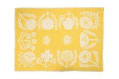 鹿児島睦 ブランケット VILLIKUKKA Yellow L