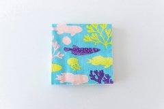 鹿児島睦 図案ペーパーナプキン ブルー