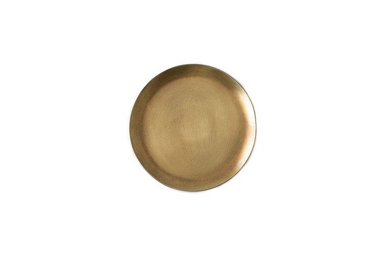 ブラスプレートM 円形