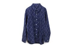 rope mens ikat shirt