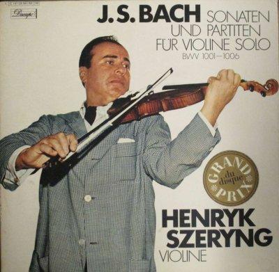 ヘンリク・シェリング  バッハ 無伴奏ヴァイオリン・ソナタ & パルティータ 全曲 (3枚組)