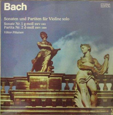 ヴィクトル・ピカイゼン   バッハ 無伴奏ヴァイオリン・ソナタ & パルティータ 全曲 (3枚組 / 分冊)