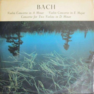 R. バルヒェット / G. V. デル・ミューレン / F. ティーレガント   バッハ ヴァイオリン協奏曲 第1番,第2番 & 2 Vn 協奏曲