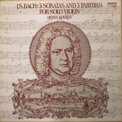デーネシュ・コヴァーチ   バッハ 無伴奏ヴァイオリン・ソナタ & パルティータ 全曲 (3枚組)