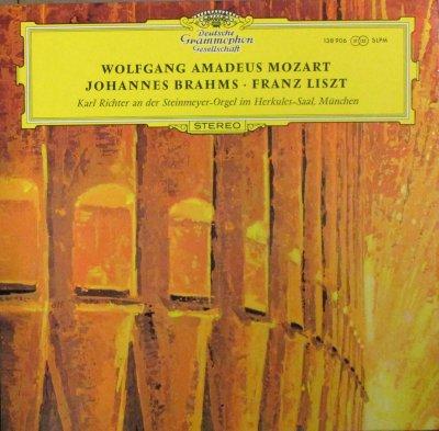 カール・リヒター   モーツァルト 幻想曲 / ブラームス 11のコラール前奏曲 / リスト バッハの名による前奏曲とフーガ