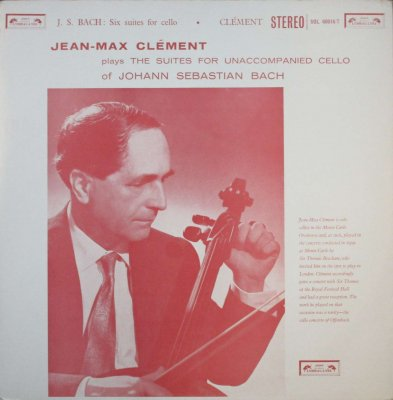 ジャン=マックス・クレマン   バッハ 無伴奏チェロ組曲 全曲 (2枚組)