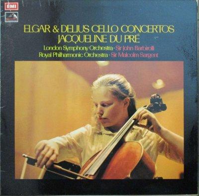 ジャクリーヌ・デュ・プレ   エルガー チェロ協奏曲 ホ短調 / ディーリアス チェロ協奏曲