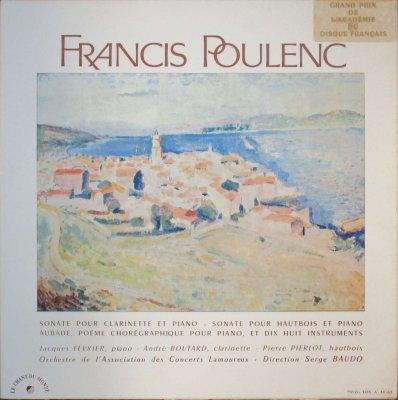 J. フェブリエ / A. ブタール / P. ピエルロ / S. ボド  プーランク クラリネット・ソナタ & オーボエ・ソナタ / P と18の楽器のための舞踏協奏曲