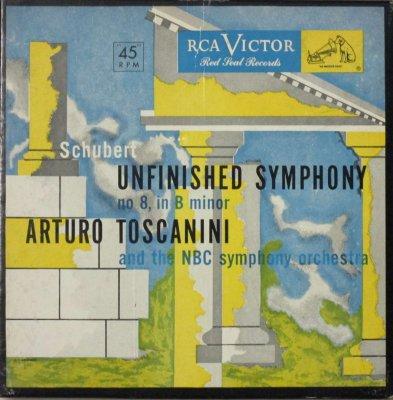 アルトゥーロ・トスカニーニ 〜 NBC 交響楽団   シューベルト 交響曲 第8番 ロ短調 「未完成」 (3枚組)