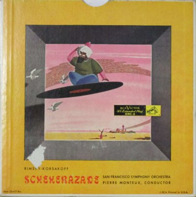 ピェール・モントゥー 〜 サンフランシスコ交響楽団   R. コルサコフ シェヘラザード (3枚組)