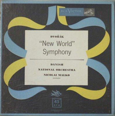 ニコライ・マルコ 〜 デンマーク国立 Orc.   ドヴォルザーク 交響曲 第5番 「新世界より」 (3枚組)