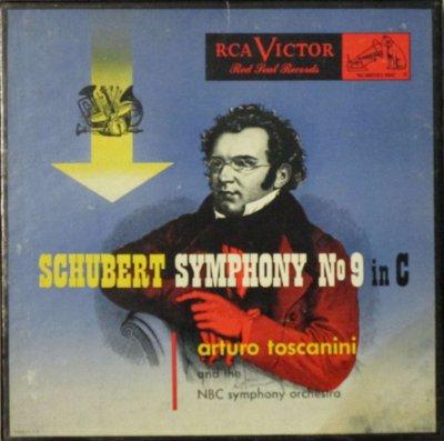 アルトゥーロ・トスカニーニ 〜 NBC 交響楽団   シューベルト 交響曲 第9番 ハ長調 「ザ・グレイト」 (6枚組)