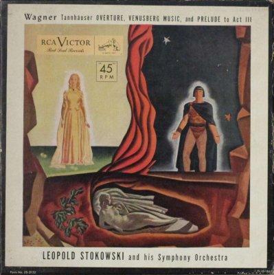 レオポルド・ストコフスキー 〜 ヒズ SO.   ワーグナー タンホイザー 〜 序曲,ヴェヌスベルクの音楽 & 第3幕への前奏曲 (4枚組)