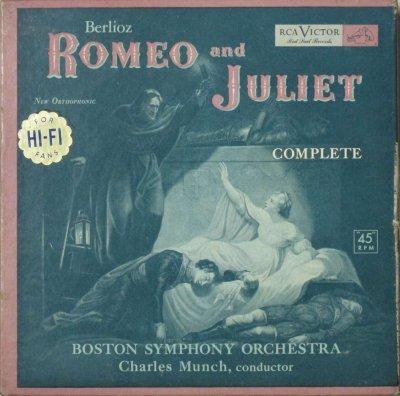 シャルル・ミュンシュ 〜 ボストン交響楽団   ベルリオーズ ロメオとジュリエット (8枚組)