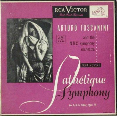 アルトゥーロ・トスカニーニ 〜 NBC 交響楽団  チャイコフスキー 交響曲 第6番 ロ短調 「悲愴」 (5枚組)