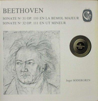 インゲル・ゼーデルグレン  ベートーヴェン ピアノ・ソナタ 第31番 変イ長調 & 第32番 ハ短調