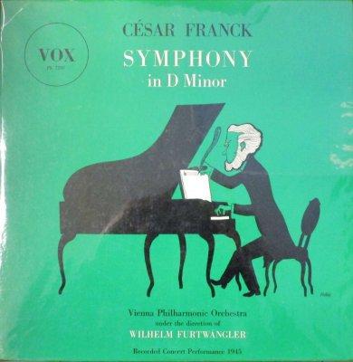 ウィルヘルム・フルトヴェングラー 〜 ウィーン・フィル   フランク 交響曲 ニ短調