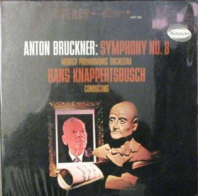 ハンス・クナッパーツブッシュ 〜 ミュンヘン・フィル   ブルックナー 交響曲 第8番 ハ短調 (2枚組)