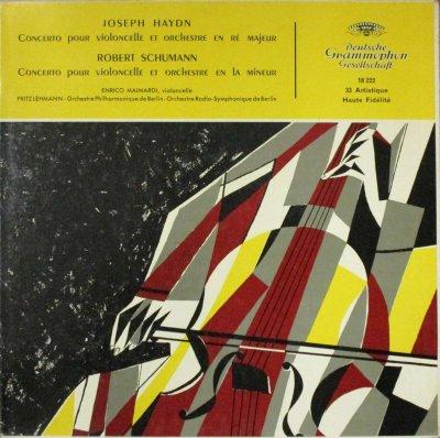 E. マイナルディ / F. レーマン 〜 ベルリン・フィル & ベルリン放送 SO.  ハイドン & シューマン チェロ協奏曲
