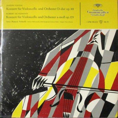 エンリコ・マイナルディ / F. レーマン 〜 ベルリン・フィル & ベルリン RIAS SO.  ハイドン & シューマン チェロ協奏曲