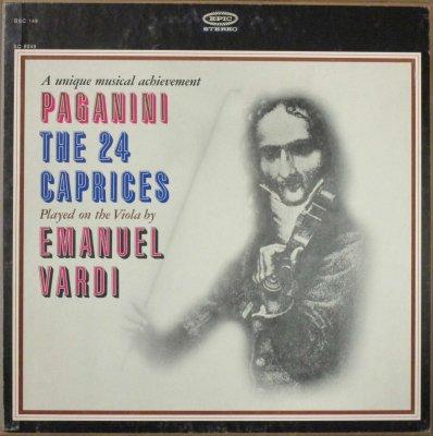 エマヌエル・ヴァルディ (ヴィオラ)  パガニーニ 24の奇想曲 (2枚組)