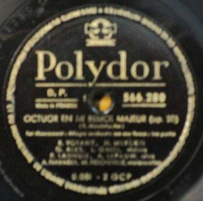R. ヴォラン / H. メルケル / G. アレス / L. ガリ / A. ナヴァラ 他  メンデルスゾーン 弦楽八重奏曲 変ホ長調 (3枚組)