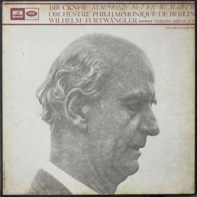 ウィルヘルム・フルトヴェングラー 〜 ベルリン・フィル   ブルックナー 交響曲 第8番 ハ短調 / 第7番 ホ長調 (2BOX・4LPs / 原典版)