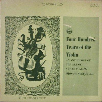 スティーヴン・スターリク   FOUR HUNDRED YEARS OF THE VIOLIN (6枚組)