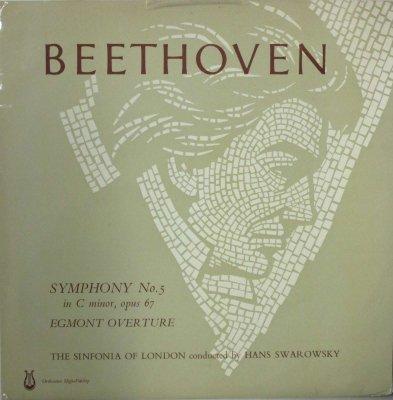 ハンス・スワロフスキー 〜 ロンドン・シンフォニア   ベートーヴェン 交響曲 第5番 ハ短調 「運命」 / エグモント序曲