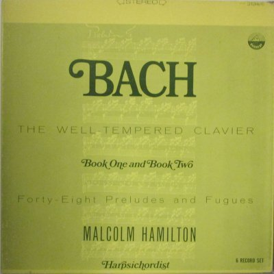 マルコム・ハミルトン   バッハ 平均律 全曲 (6枚組)