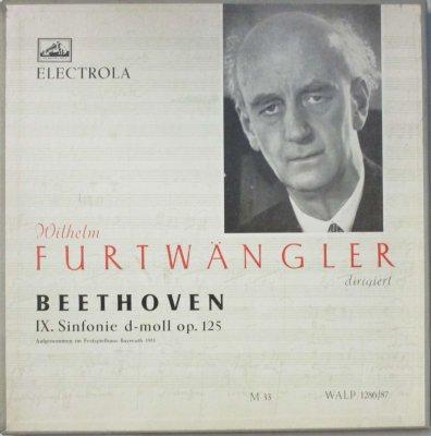 W. フルトヴェングラー 〜 バイロイト祝祭 Orc. & Cho. / E. シュヴァルツコップ / O. エデルマン 他   ベートーヴェン 交響曲 第9番 ニ短調 「合唱付き」 (2枚組)