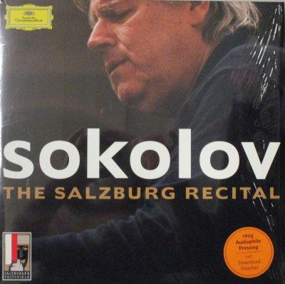 グリゴリー・ソコロフ   ザルツブルク・リサイタル 2008年 〜 モーツァルト ピアノ・ソナタ 第2番 & 第12番 / ショパン 24の前奏曲,マズルカ 第47番 & 41番 他 (2枚組)