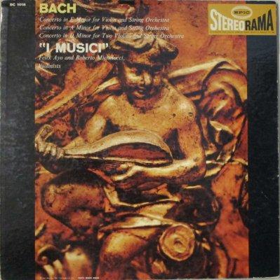 イ・ムジチ合奏団 / F. アーヨ / R. ミケルッチ  バッハ ヴァイオリン協奏曲 第1番 & 第2番 / 2つのヴァイオリンのための協奏曲