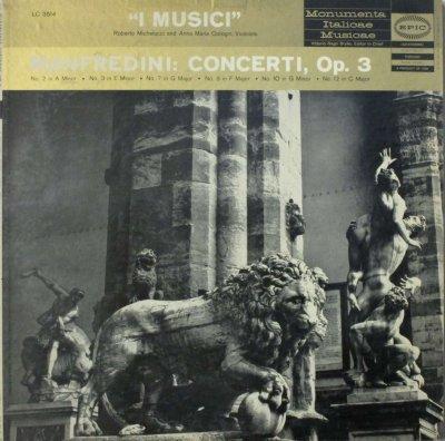 イ・ムジチ合奏団 / R. ミケルッチ / A. M. コトーニ   マンフレディーニ 6の合奏協奏曲 (12の合奏協奏曲 Op.3) 〜 第2番,3番,7番,8番,10番 & 12番