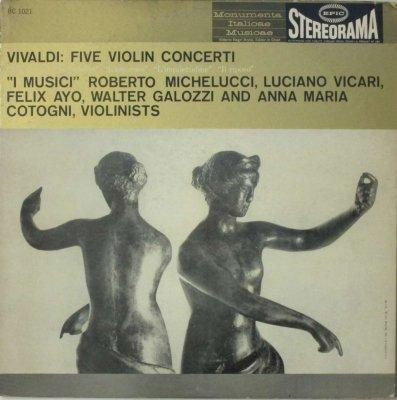 イ・ムジチ合奏団   ヴィヴァルディ 5つのヴァイオリン協奏曲
