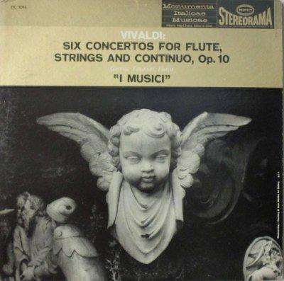 イ・ムジチ合奏団 〜 G. タッシナーリ   ヴィヴァルディ 6つのフルート協奏曲 (Op.10)