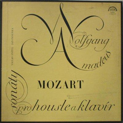 ヴァーツラフ・スニーティル 〜 ヤン・パネンカ   モーツァルト ヴァイオリン・ソナタ (26曲) & 2つのフランスの歌による変奏曲 (2BOX / 7LPs)