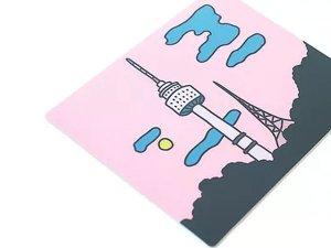 ピンク・Nソウルタワーマウスパッド