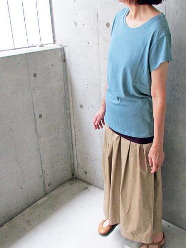 meeコットン100%の納得半袖Tシャツとキ...