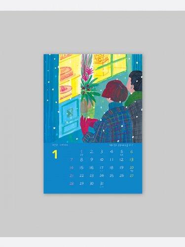 ソウルてくてく、地元デザイナーたちが通う乙支路お店カレンダー2018