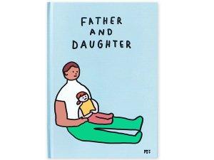絵本 FATHER AND DAUGHTER