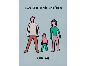 FATHER AND MOTHER AND ME A3ポスター